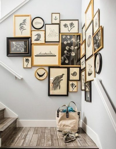 Creative Staircase-gallery-wall